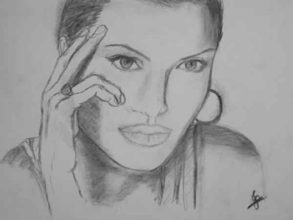 Angelina Jolie by JoyceTirolli